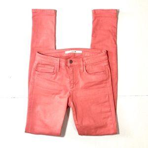 {Joe's Jeans} Tall Skinny Coral Jeans